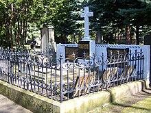 Grab Karoline Jagemanns auf dem Trinitatisfriedhof (Quelle: Wikimedia)