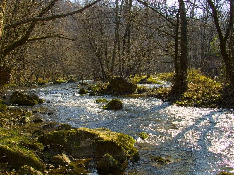 Gradac river near Valjevo