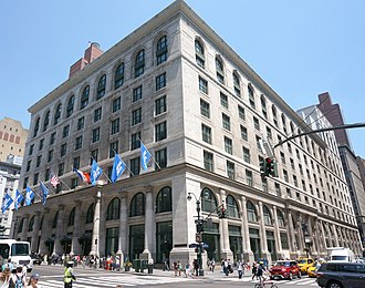 Graduate Center, CUNY - The Graduate Center is located in the former B. Altman building at 365 Fifth Avenue.