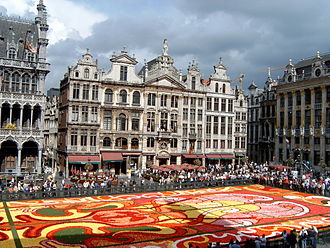 Flower Carpet - Image: Grand place 07