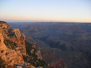 Photo of the Grand Canyon on the south rim at ...