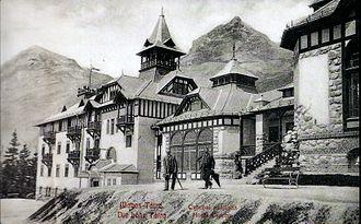 Štrbské Pleso - Grand Hotel Csorba