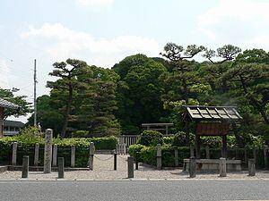 Emperor Ankan - Memorial Shinto shrine and mausoleum honoring Emperor Ankan.