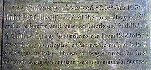 John Blenkinsop - Image: Gravestone centenary detail of John Blenkinsop geograph.org.uk 1294569