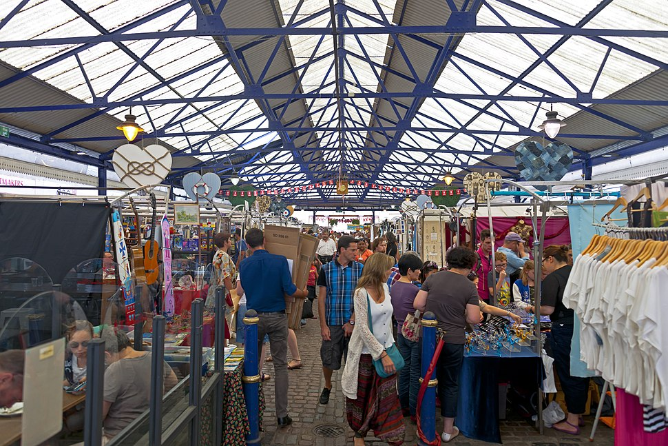 Greenwich Market interior