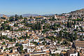 Grenade Albayzin depuis Alhambra Espagne.jpg