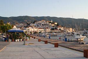 Griechenland Insel Poros Hafen