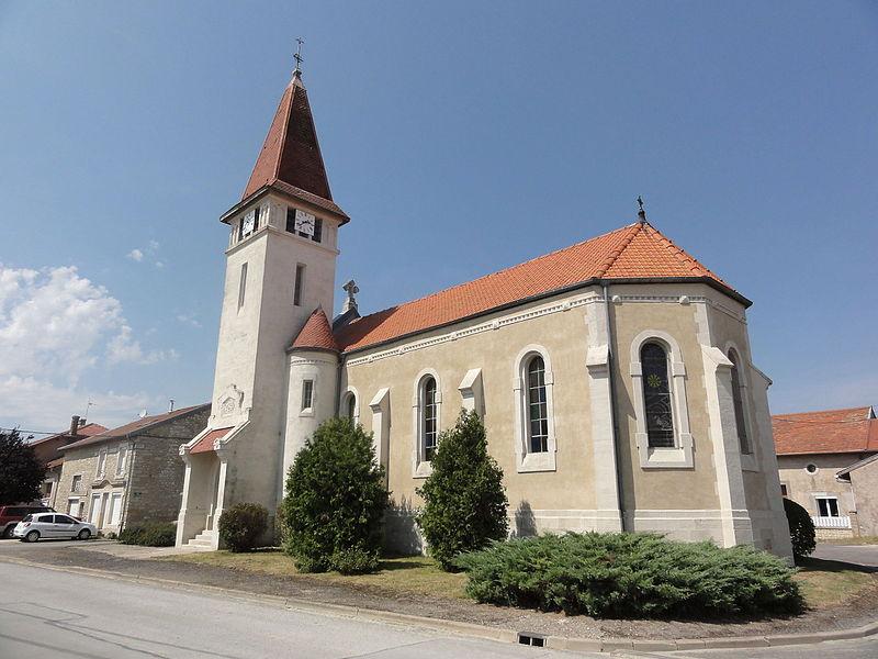 Grimaucourt-en-Woëvre (Meuse) église