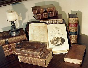 Various antiquarian books, including Francis G...