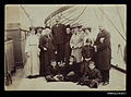 Group of passengers on the deck of SS DAMASCUS (7633398182).jpg