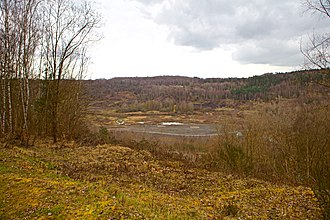 Messel pit - Image: Grube Messel, Weltnaturerbe panoramio