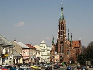 Grybów - St. Catherine's Church in Grybów