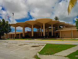 Guam International Airport Old Terminal Building1.JPG