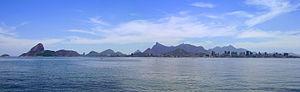 Guanabara Bay - View of Rio de Janeiro from Guanabara Bay
