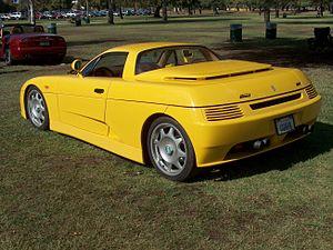 De Tomaso Guarà - Guarà at Woodley Park - rear view