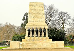 Guards Memorial - The memorial in 2011