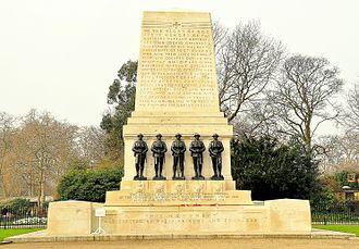 Guards Memorial - The memorial in 2011