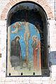 Guido palmerucci, crocifissione e dolenti nel tabernacolo di piazza quaranta martiri a gubbio, 1300-40 ca. 00.JPG