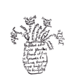 Guillaume Apollinaire - Calligramme - Fleurs.png