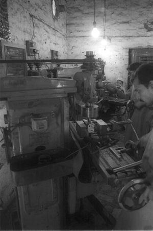 Darra Adam Khel - Gun workshop.
