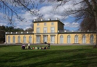 Olof Tempelman - Gustav III Pavilion in Hagaparken, north of Stockholm.