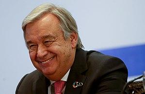 António Guterres - António Guterres, 2016