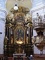 Györ Karmeliterkirche Innen Hochaltar 1.JPG