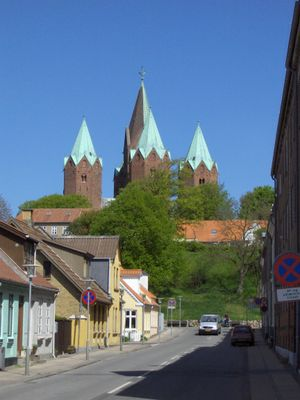 Kalundborg -  Church of Our Lady in Kalundborg, Denmark.