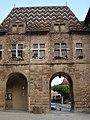 Hôtel de ville (toit vernissé) de Saint Antoine l Abbaye - monument historique PA00117247 - FRANCE - Alain Van den Hende - Licence CC 4 0 -2073.jpg