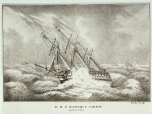 H.M.S. Cambridge and Squadron Decr 2d and 3d 1840 RMG PU6111.tiff