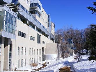 HEC Montréal - A side view of the Côte-Sainte-Catherine