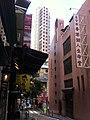 HK Central SOHO 依利近街 Elgin Street view 萬城閣 Million City n 香港潮人生命堂 Sept-2011.jpg