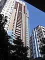 HK Kennedy Town 卑路乍街68號 Belcher's Street Imperial Kennedy facade Rock Hill Street 建隆樓 Kin Liong Mansion Jan-2016 DS.JPG