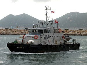 Marine Region - Police Launch 80.