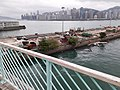 HK TST 尖沙咀東海濱 Tsim Sha Tsui East Waterfront Promenade 梳士巴利道 Salisbury Road footbridge view 紅磡 Hung Hom 維多利亞海 Victoria Harbour March 2020 SS2 01.jpg