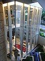 HK Tung Chung evening Coastal Skyline La Rossa A lift lobby Oct-2012.JPG