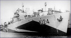 HMCS Cobalt (K124) - Image: HMCS Cobalt K124 MC 2207