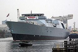 HMS Daring at Scotstoun