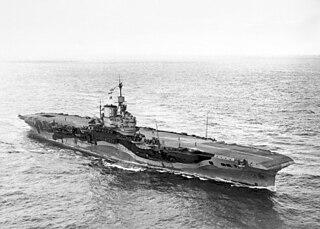 HMS <i>Formidable</i> (67) Illustrious-class aircraft carrier