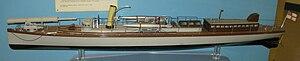 HMS Lightning (1876) - A model of HMS Lightning