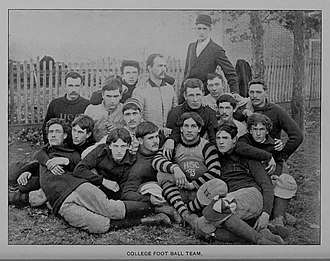 1893 Hampden–Sydney Tigers football team - Image: HS Cfootball 1893