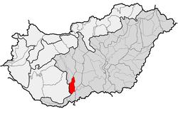 Pozíció Magyarország térképén