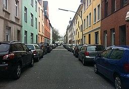 Hackländerstraße in Köln