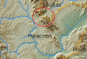 Haliacmon - Image: Haliacmon Wind Gap