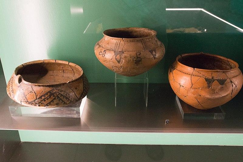 File:Hallstatt culture painted pottery, NM Prague, 188225.jpg