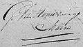 Handtekening Gerardus van Houweninge (1762-1850).jpg