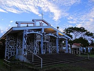 Hanga Roa - Image: Hanga Roa Church 2013