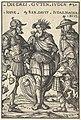 Hans Burgkmair I, Joshua, David and Judas Maccabaeus, 1516, NGA 30647.jpg