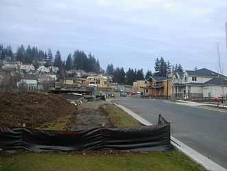 Happy Valley, Oregon - The rapid growth of Happy Valley led to the construction of many new housing developments