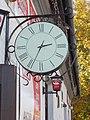 Harangláb Pub clock, 2017 Törökbálint.jpg